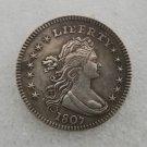 1 Pcs US 1807 Draped Bust Quarters Dollar Copy Coin