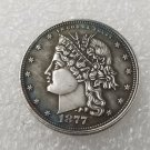 1 Pcs US 1877 Coronal Liberty Head Half Dollar Copy Coin