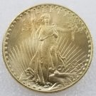 1 Pcs US 1920-S Saint Gaudens Double Eagle Twenty Dollars Golden Copy Coin