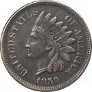 1 Pcs 1859 Indian head one cents copy coin  for collection