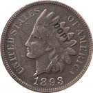 1 Pcs 1893 Indian head one cents copy coin for collection