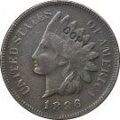 1 Pcs 1886 Indian head one cents copy coin for collection