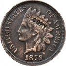 1 Pcs 1872 Indian head one cents copy coin for collection