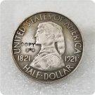 US 1921 (2X4 ) Missouri Silver Commemorative Half Dollar Copy Coin  For Collection