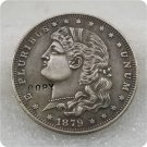 US 1879 Schoolgirl Dollar Patterns Copy Coin  For Collection