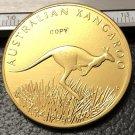 2008 Australia Kangaroo Gold Copy Coin