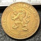1978 Exonumia - Bullion - Czechoslovakia 2 Dukaty Charles IV Gold Token Copy Coins