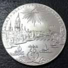 1772 Free imperial city of Frankfurt 1 Conventionsthaler German Silver Plated Coin Copy