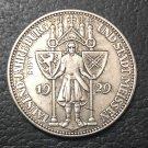1929Germany 3 Reichsmark Meissen Copy Coin