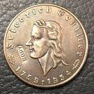 1934 Germany 2 Reichsmark Friedrich Schiller Copy Coin