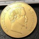 1858 France 100 Francs Copy Gold Coin