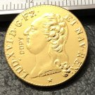 1785 France 2 Louis d'Or Copy Gold Coin