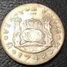 1748 Spain 4 MF Pillar Copy Coin