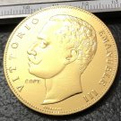 1905 Itlay 100 Lire Gold Copy Coin