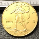 1937 Itlay 100 Lire Gold Copy Coin