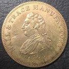 1811 United Kingdom 1 Penny Token Copper Coin #1