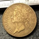 1736 Ireland 1/2 Penny-George II Copper Metal Copy Coin