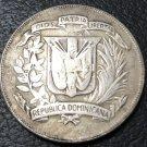 1974 Dominican Republic 1 Peso Central American and Caribbean Games Coin Copy