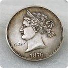 1872 1876 $1 Sailor Head Dollar Copy Coin No Stamp