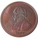 1795 Washington Grate One Penny Copper Copy Coin No Stamp