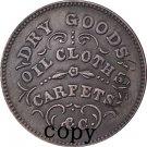 USA Civil war 1863 copy coins #10 No Stamp