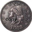 USA Civil war 1863 copy coins #11 No Stamp