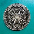 Bonze Maya Aztec Calender Belt Buckle