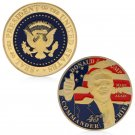 45th President Of The United States Donald Trump Commemorative Novelty Coin Gift