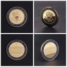Commemorative Coin US 45th President DOnald Trump Collection Arts Gifts Souvenir Coin