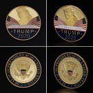 Commemorative Coin America President Trump 2020 Collection Speech Crafts Art Souvenir Coin