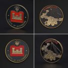 US Army Engineer Commemorative Coin Alloy Crafts Travel Classic Gift Festival Souvenir Coin