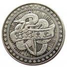 US Hobo Morgan Dollar Skull Skull Zombie Skeleton Silver Plated Copy Coins No Stamp