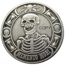 US Hobo Morgan Dollar Skull Owl Zombie Skeleton Silver Plated Copy Coins No Stamp