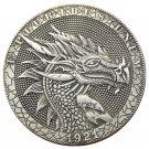 US Hobo 1921 Morgan Dollar Skull Dragon Skeleton Silver Plated Copy Coins No Stamp