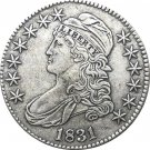 United States 1831 Liberty Eagle 50 Cents Capped Bust Half Dollar Copy Coin