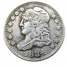 USA 1834 Capped Bust Dime 10 Cent Copy Coins