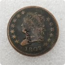 USA 1808 Classic Head Large Cent Copy Coins