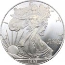 1995 US Walking Liberty One Dollar Copy Coins