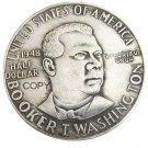 USA 1948 Booker T Washington Half Dollar Silver Plated Copy Coin