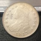 """1813United States 50 Cents / ½ Dollar """"Capped Bust Half Dollar"""" Copy Coin"""