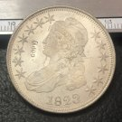 """1823 United States 50 Cents / ½ Dollar """"Capped Bust Half Dollar"""" Copy Coin"""
