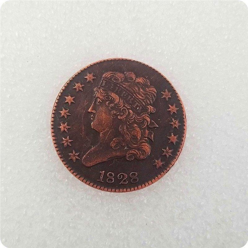 USA 1829 Classic Head Half Cent Copy Coin