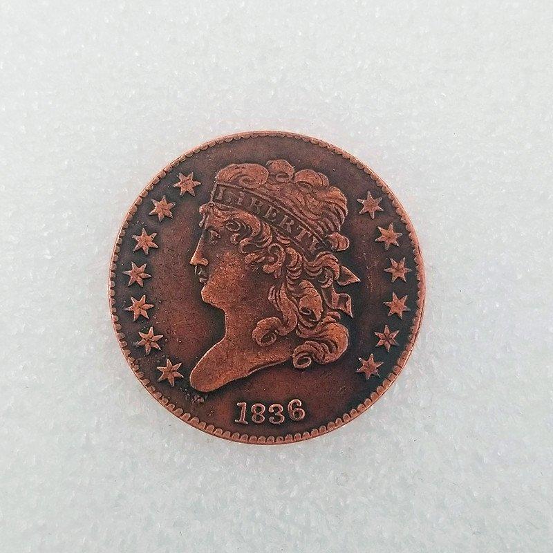 USA 1836 Classic Head Half Cent Copy Coin