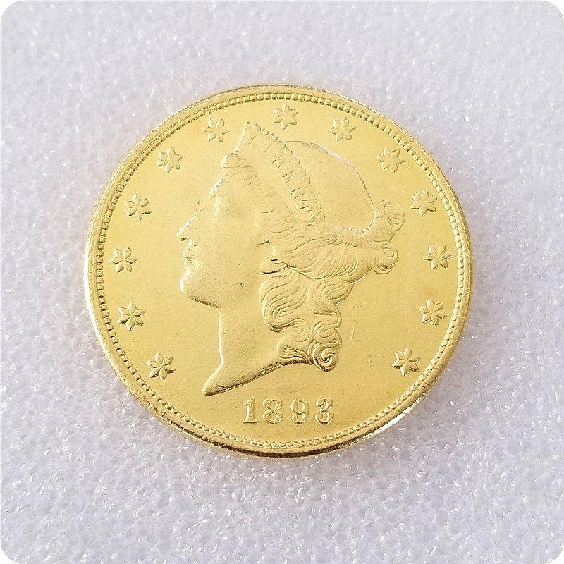USA 1893-CC Liberty Head Twenty Dollar Copy Coin