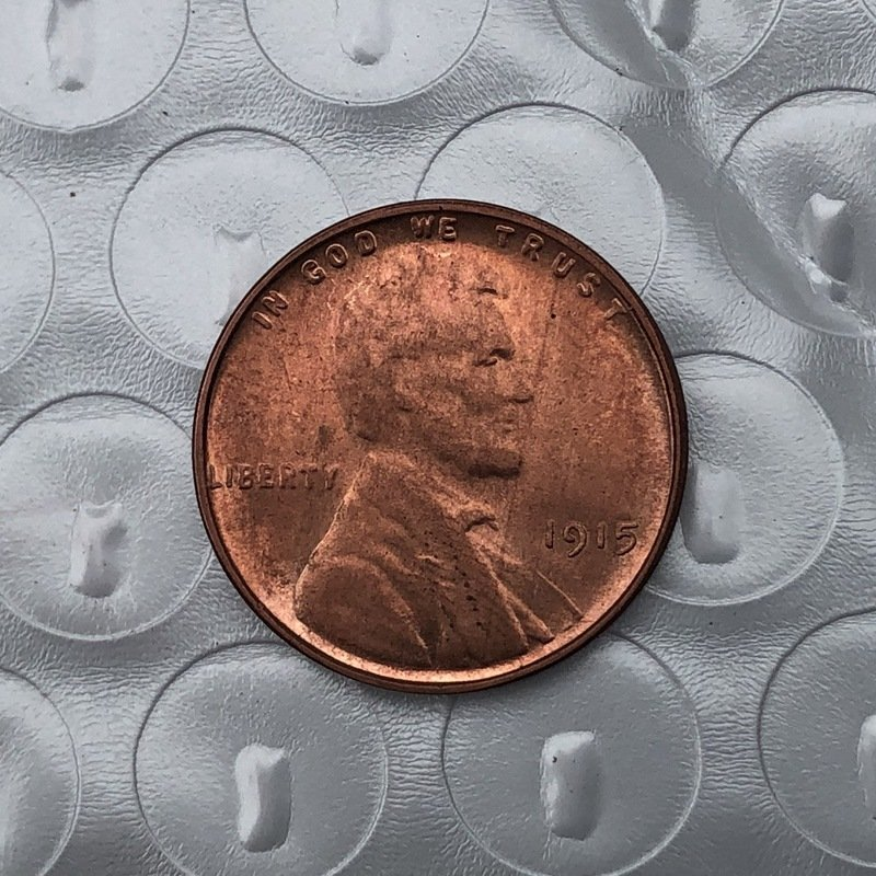 US 1915 Lincoln Head One Cent Copy Coin