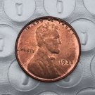 US 1935 Lincoln Head One Cent Copy Coin