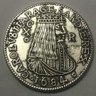 1684 Kingdom of Sardinia (Spanish rule) (Italian states) 10 Reali - Carlo II Copy Coin