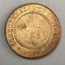 1929 Australia 1 Penny - George V Copy Coin