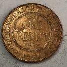1921 Australia 1 Penny - George V Copy Coin