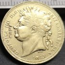 1821 United Kingdom 1 Sovereign - George IIII Copy Coin